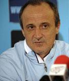 Delio Rossi CT della Lazio, ex allenatore del Torremaggiore