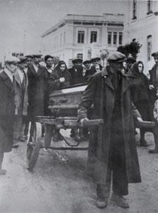 Funerale Lavacca e Lamedica 2/12/1949 - Fonte CGIL Foggia