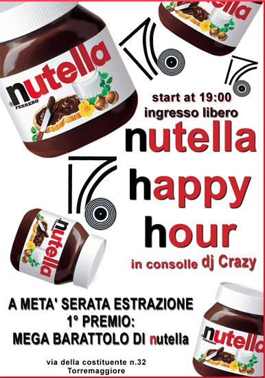 Nutella Happy Hour a Torremaggiore al 176