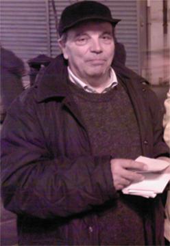 Peppino Lamedica l'autore dei volantini satirici dedicati alla politica
