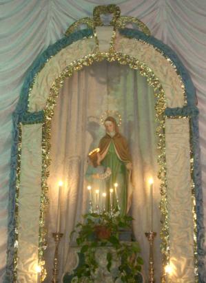 S.Anna che si venera nella Chiesa di Santa Maria degli Angeli a Torremaggiore