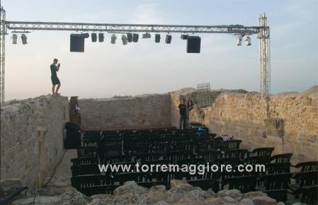 Location dell'evento teatrale - Domus Area  - Castel Fiorentino - Torremaggiore (FG) - www.torremaggiore.com -