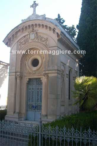 Cappella Funebre del Principe di San Severo e Duca di Torremaggiore Michele De Sangro (1824-1891) Cimitero di Torremaggiore - www.torremaggiore.com -