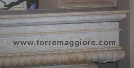 Sarcofago di marmo Tomba del Principe De Sangro a Torremaggiore - 2011 - www.torremaggiore.com