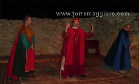 L'ultimo dì a Corte di Federico  -  Domus Area di  Castel Fiorentino - Torremaggiore (FG) - www.torremaggiore.com - 3 agosto 2011